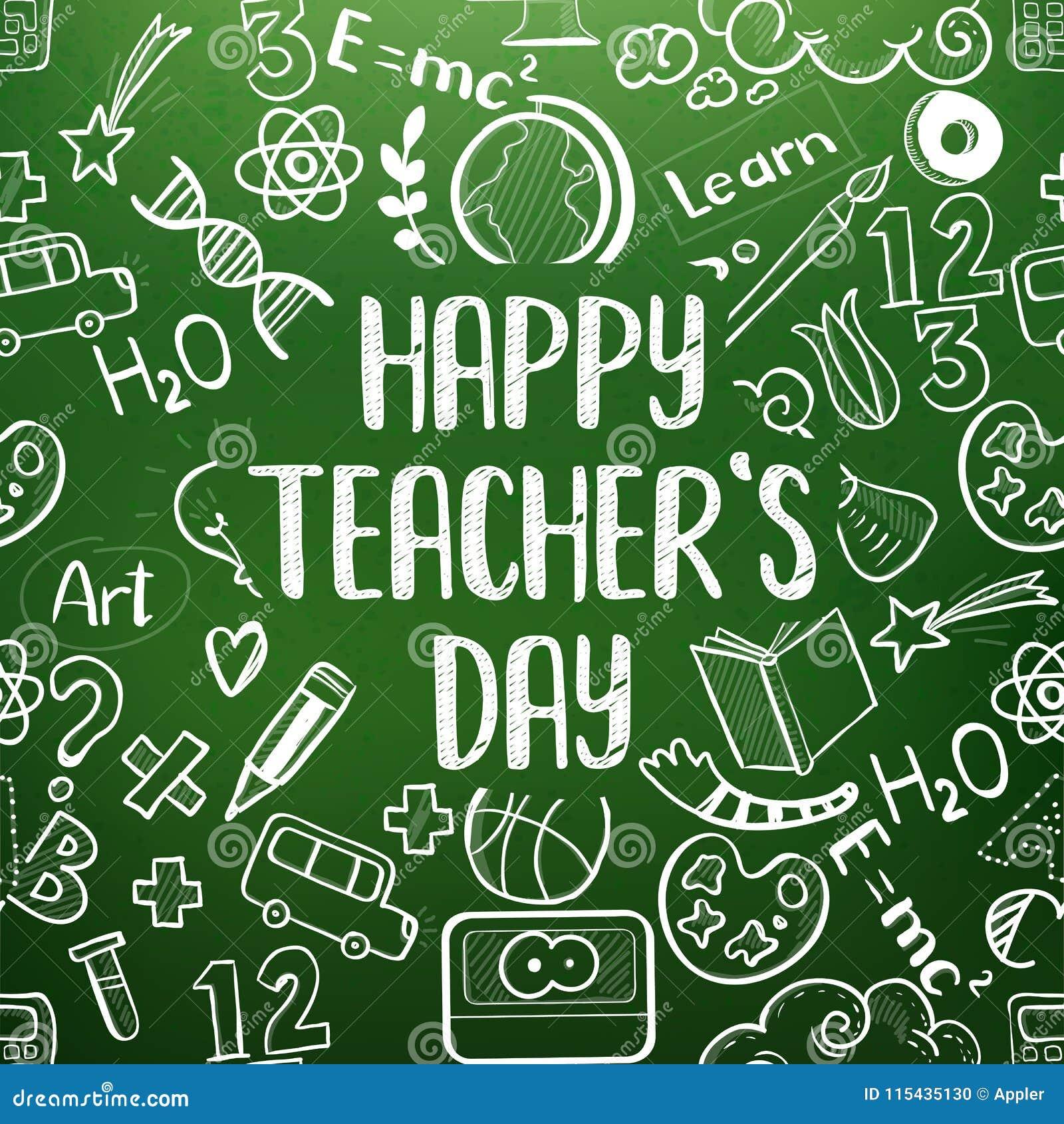 Happy teachers day greetings stock vector illustration of class download happy teachers day greetings stock vector illustration of class chalk m4hsunfo