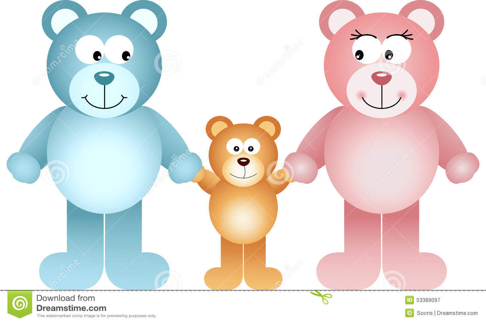 Bear Family Stock Illustrations 8 790 Bear Family Stock Illustrations Vectors Clipart Dreamstime