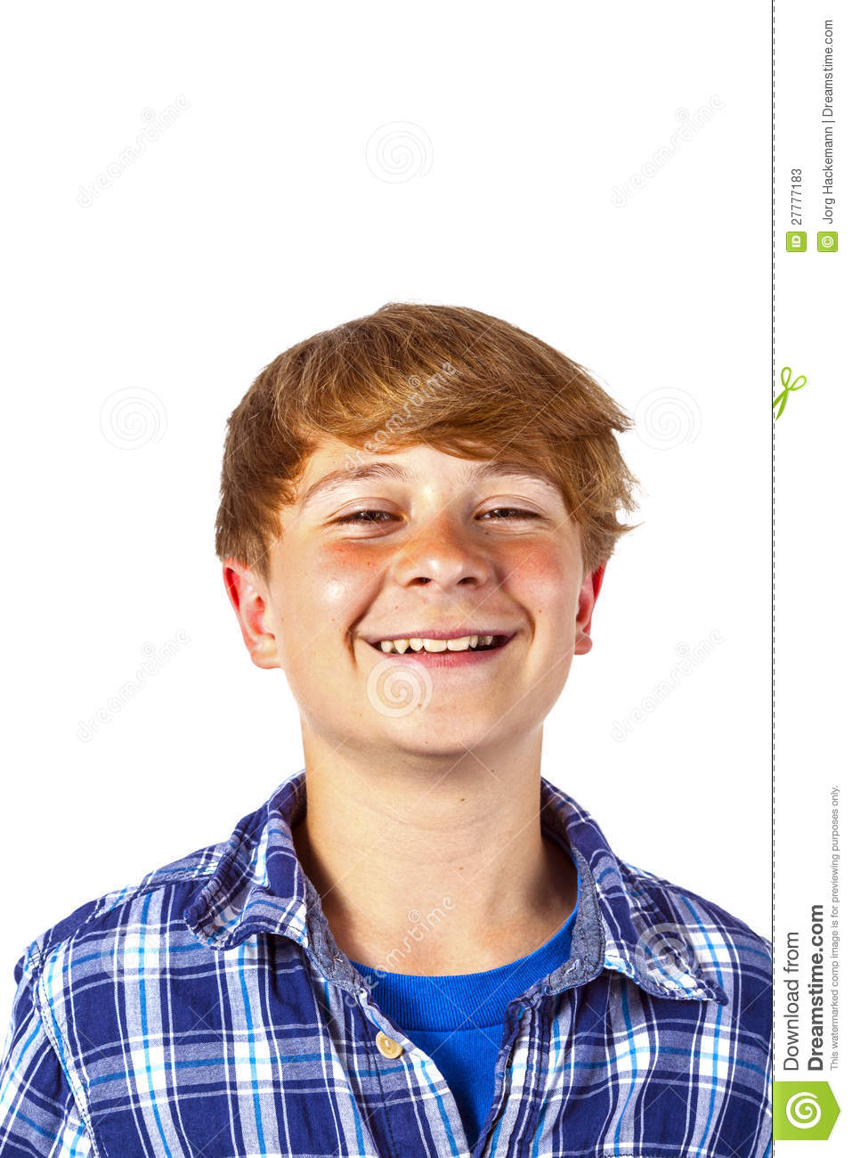 Happy Teen By Crumbling Wall Stock Image: Happy Teen Boy Is Laughing Stock Photos