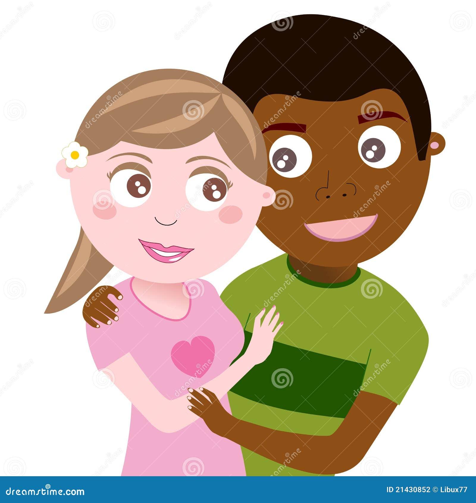 Interracial dating Emoji