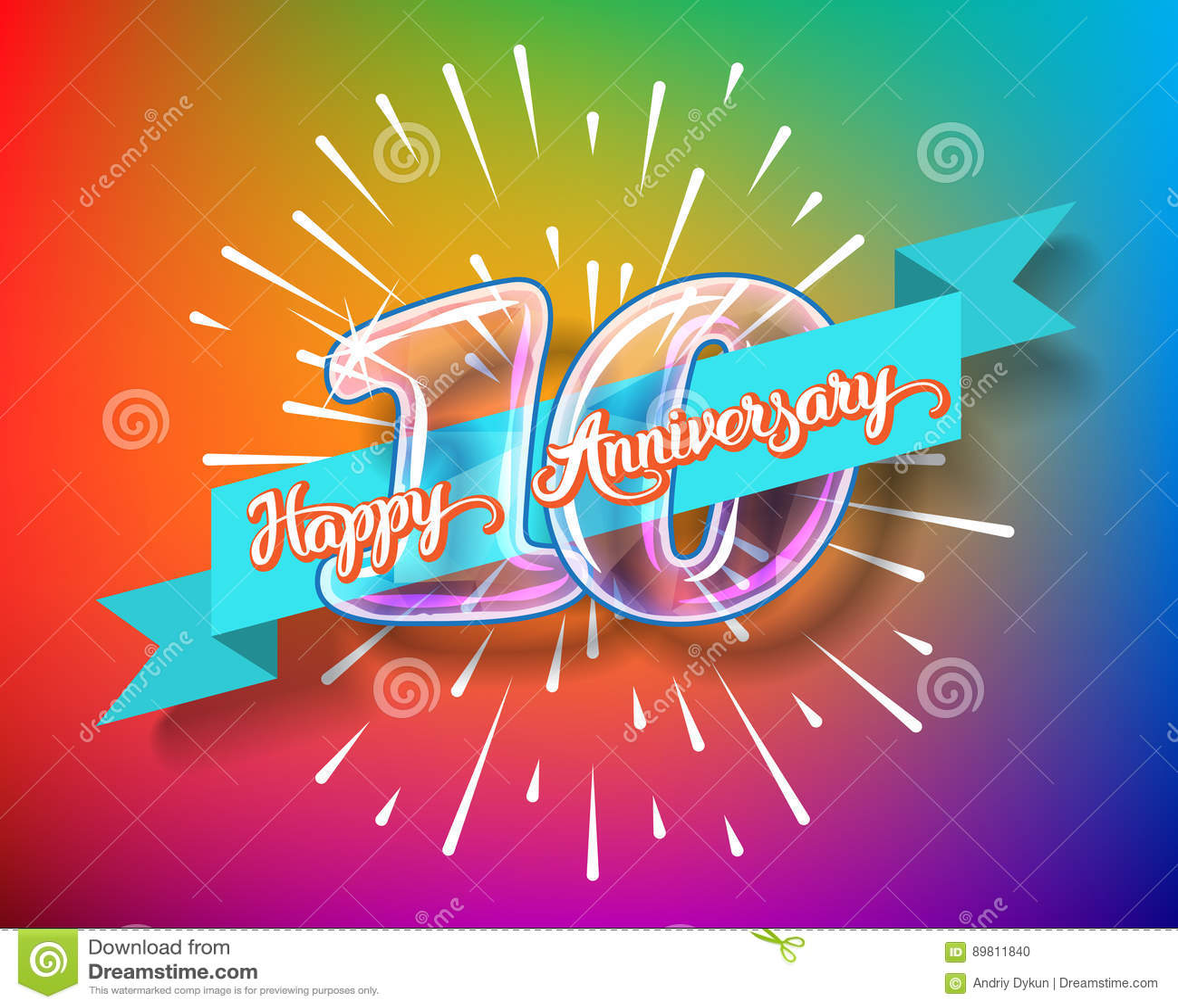 Happy 10th Anniversary Www Pixshark Com Images
