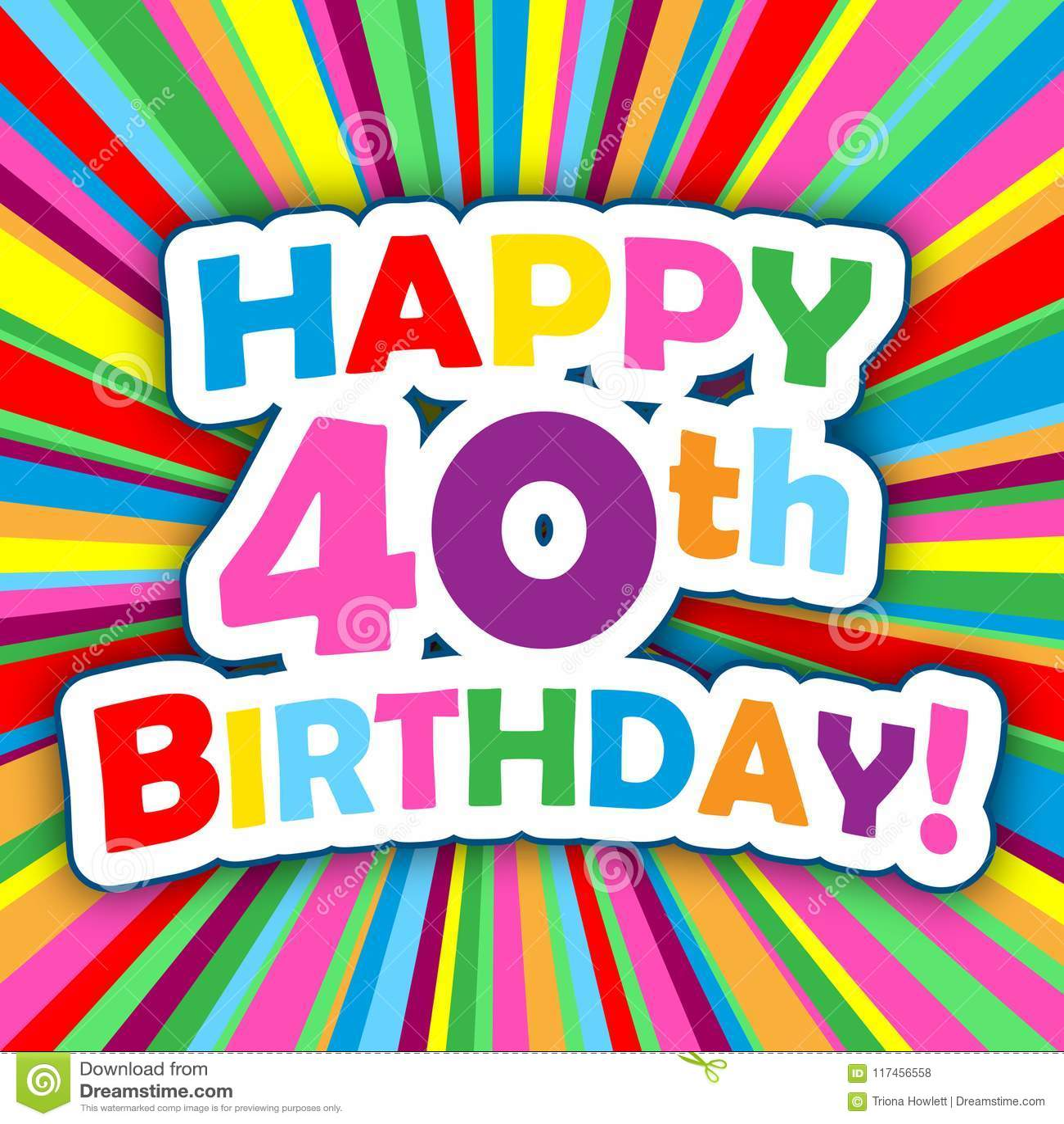 40th Birthday Stock Illustrations 2 412 40th Birthday Stock Illustrations Vectors Clipart Dreamstime