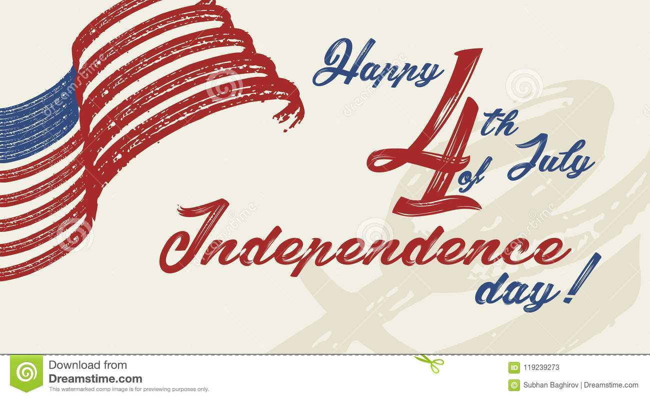 Happy 4th of july independence day of united states of america happy 4th of july independence day of united states of america greeting card design vector illustration m4hsunfo