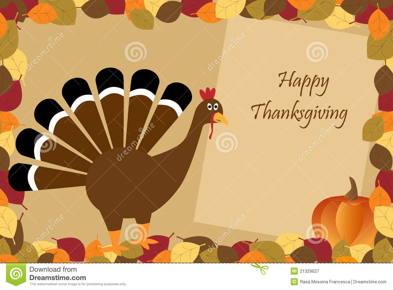 happy thanksgiving stock vector illustration of style 21329627