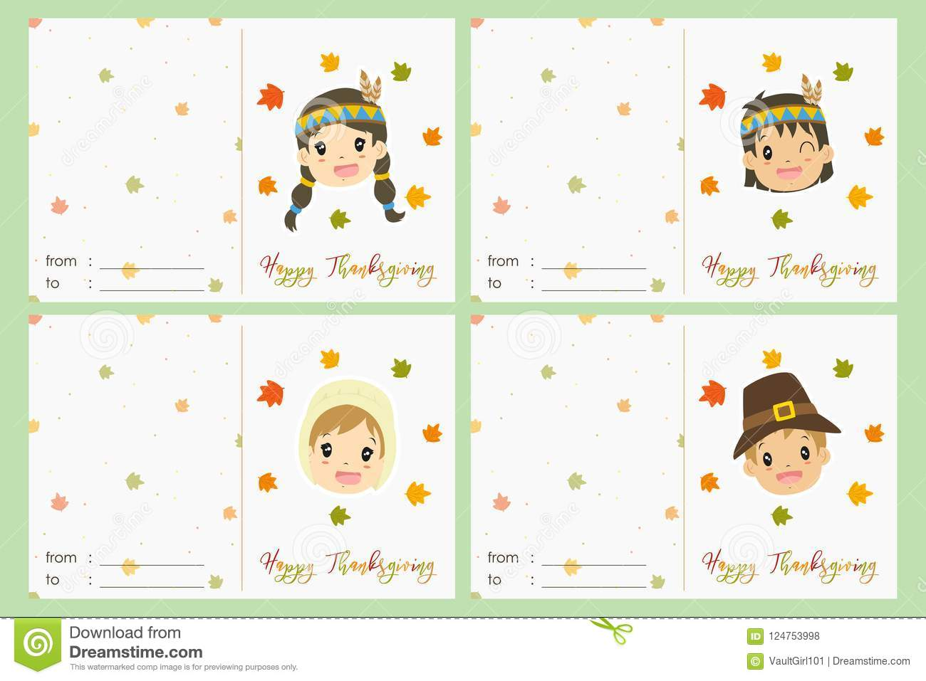 photograph about Printable Thanksgiving Cards known as Content Thanksgiving Social gathering Card Vector Preset Inventory Vector