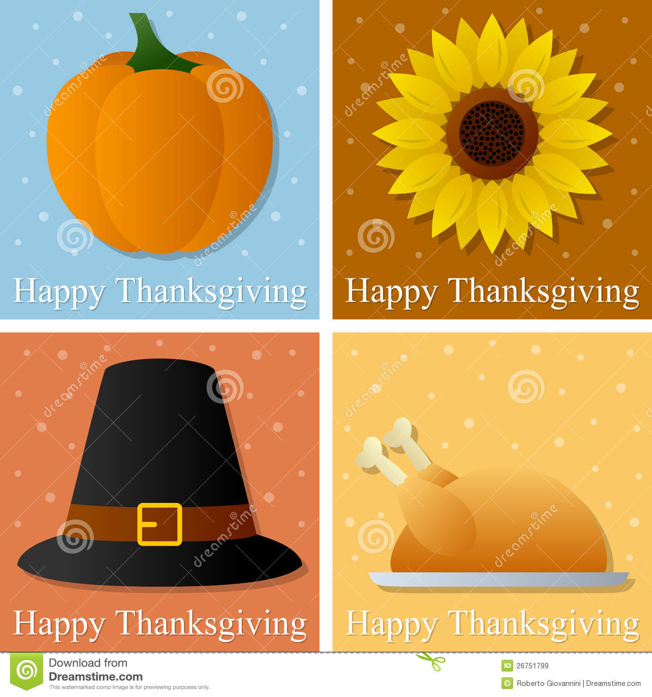 Happy thanksgiving day cards stock vector illustration of november happy thanksgiving day cards m4hsunfo
