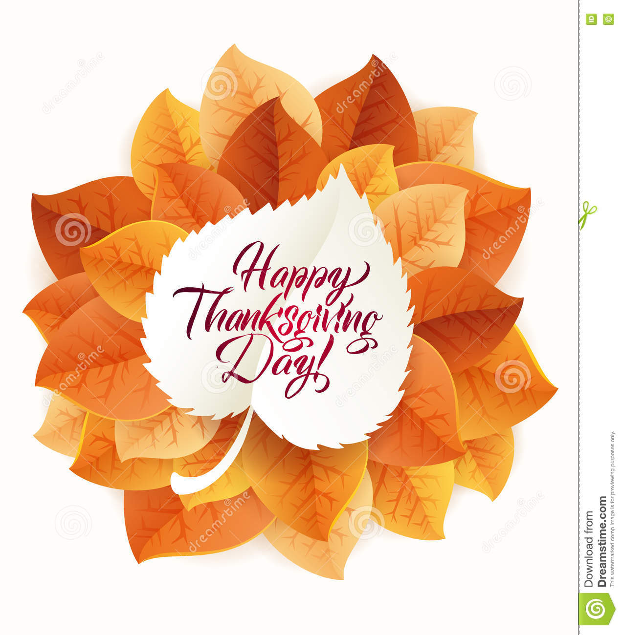 Happy thanksgiving day circular ornament made of leaves on white happy thanksgiving day circular ornament made of leaves on white background happy thanksgiving day greeting m4hsunfo