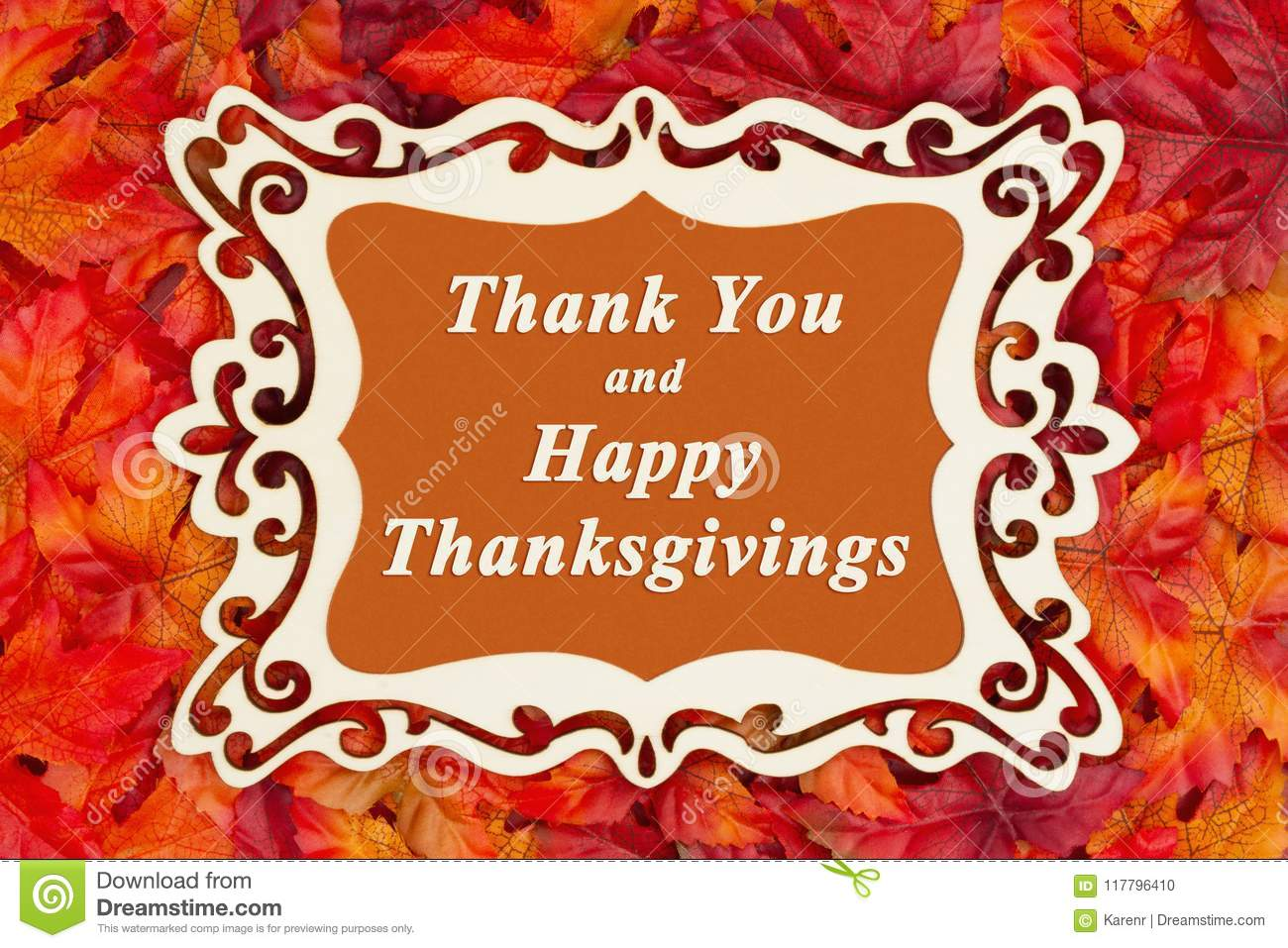 Happy thanksgiving greeting with fall leaves stock photo image of download happy thanksgiving greeting with fall leaves stock photo image of autumn type m4hsunfo