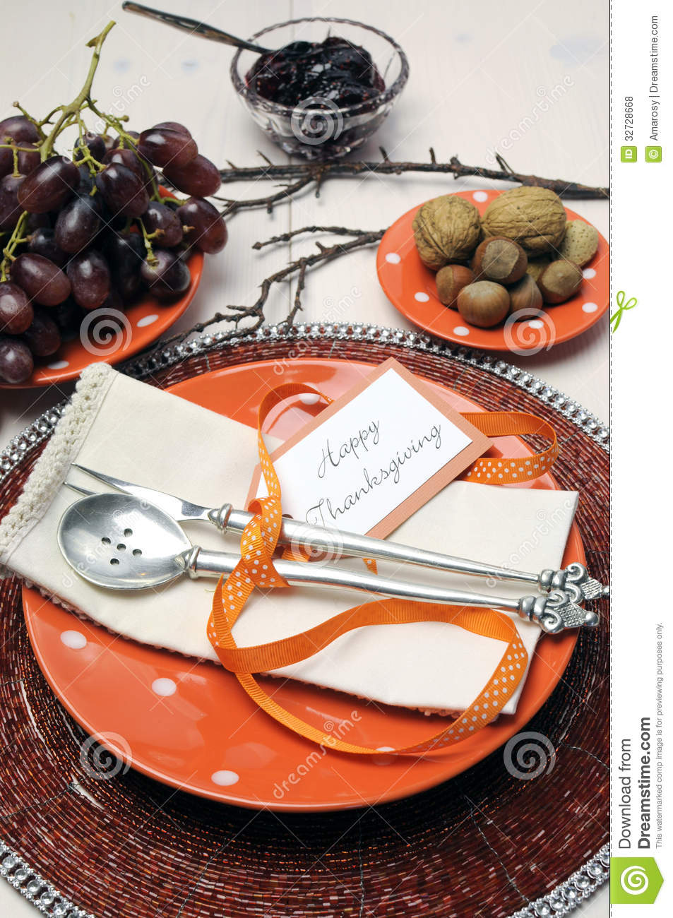 Happy Thanksgiving Lunch Brunch Or Casual Modern Dining