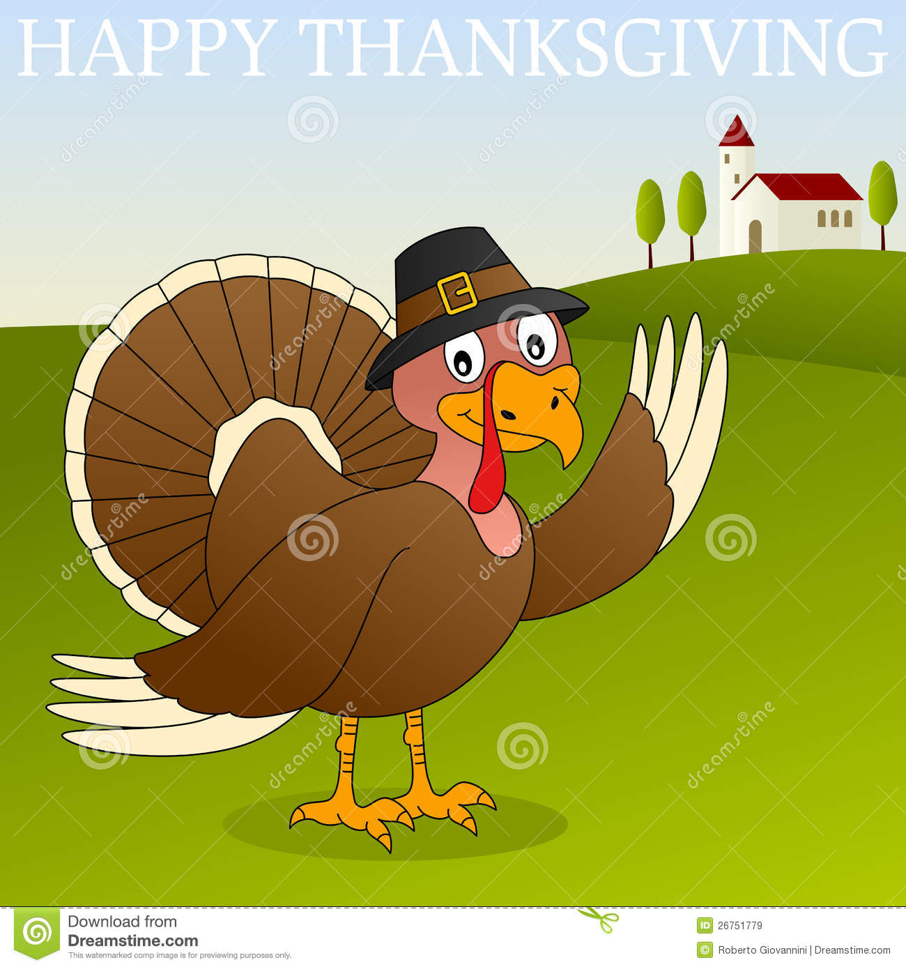 Happy thanksgiving turkey royalty free stock images image 26751779