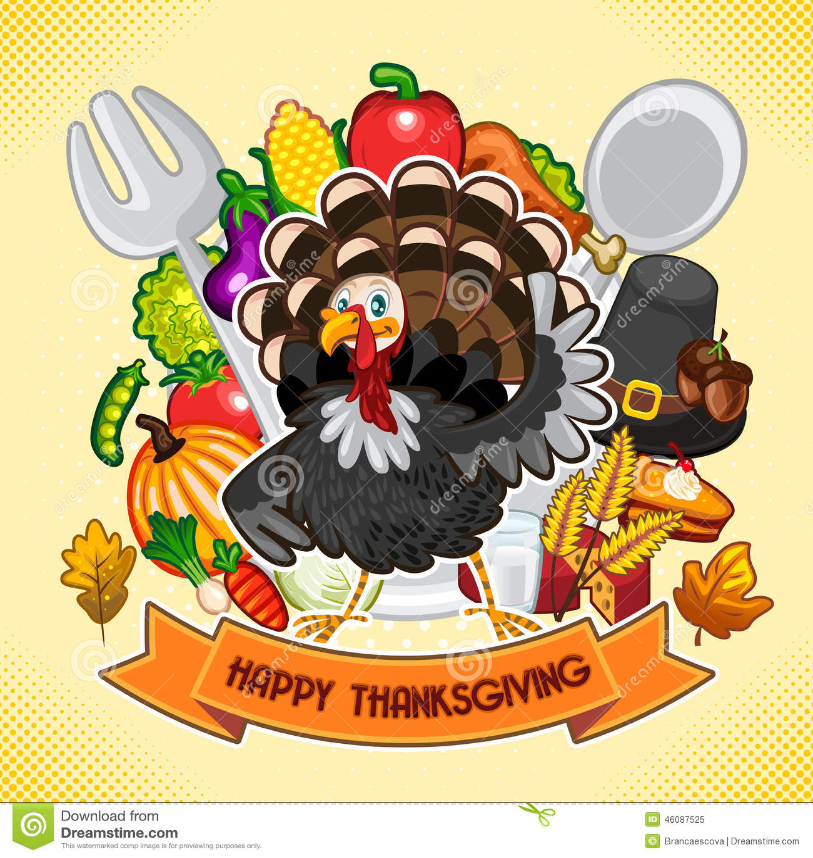 Happy Thanksgiving TurkeyHappy Thanksgiving Turkey