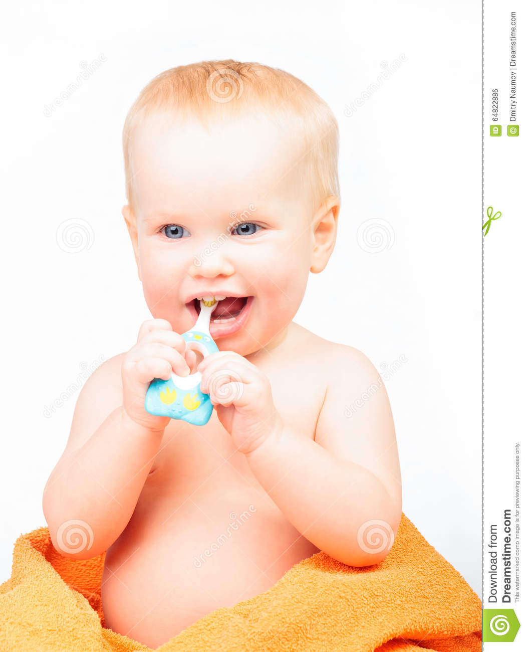how to get baby to brush teeth