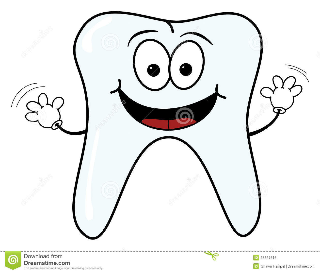 Happy Tooth Clipart Imgkid Has