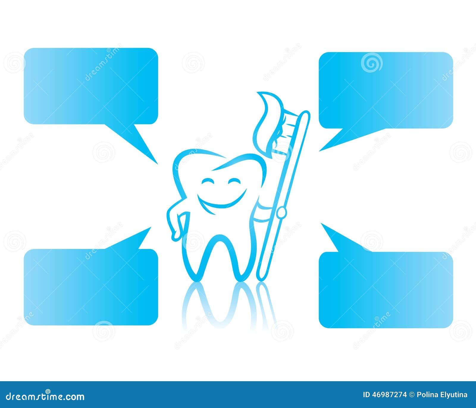 Toothbrush illustration
