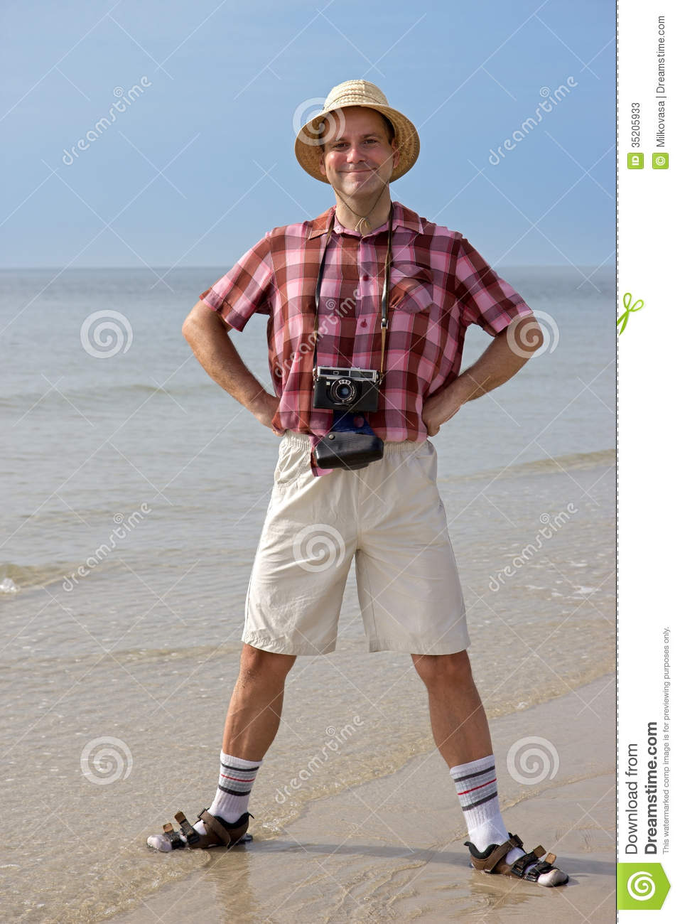 Happy Tourist Stock Photos Image 35205933