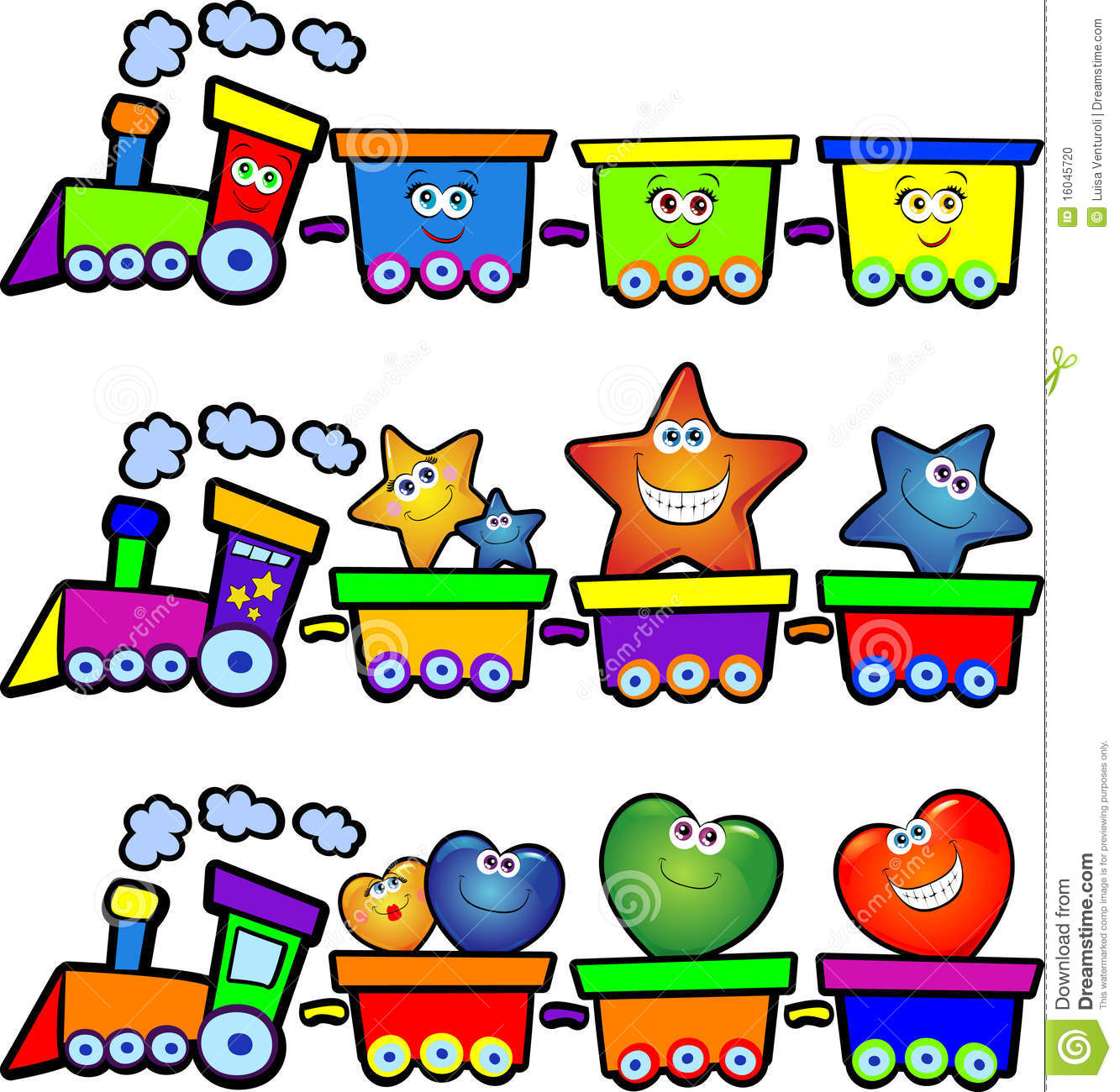 Clipart Images Of Train