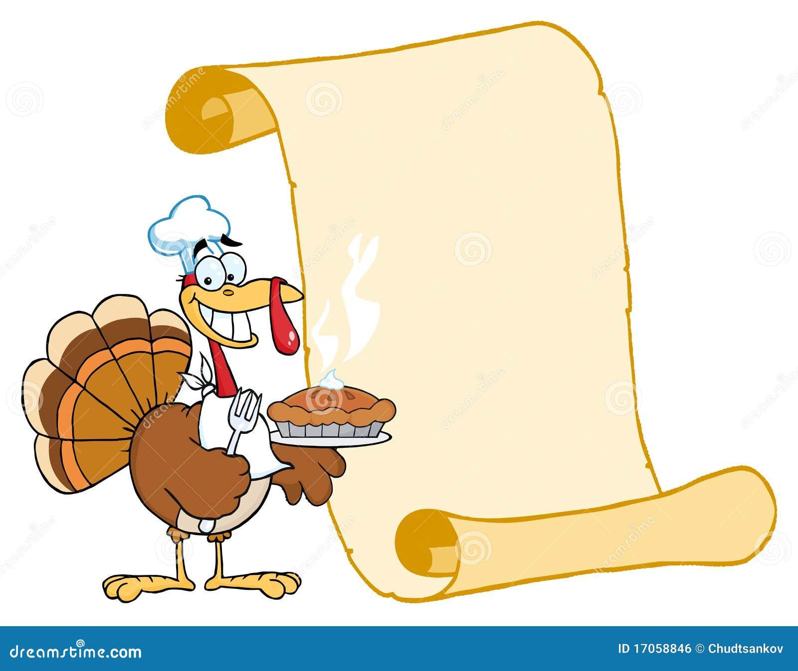 happy turkey chef with pie and scroll royalty free stock pilgrim bonnet clipart pilgrim bonnet clipart