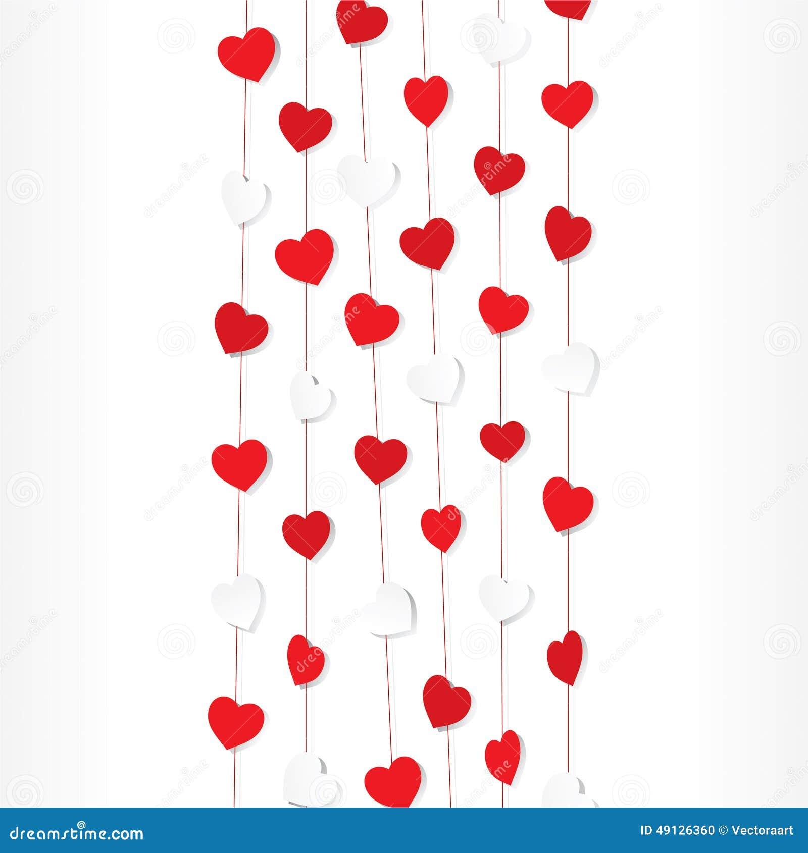Happy Valentine Day Design Stock Vector Illustration Of Romance