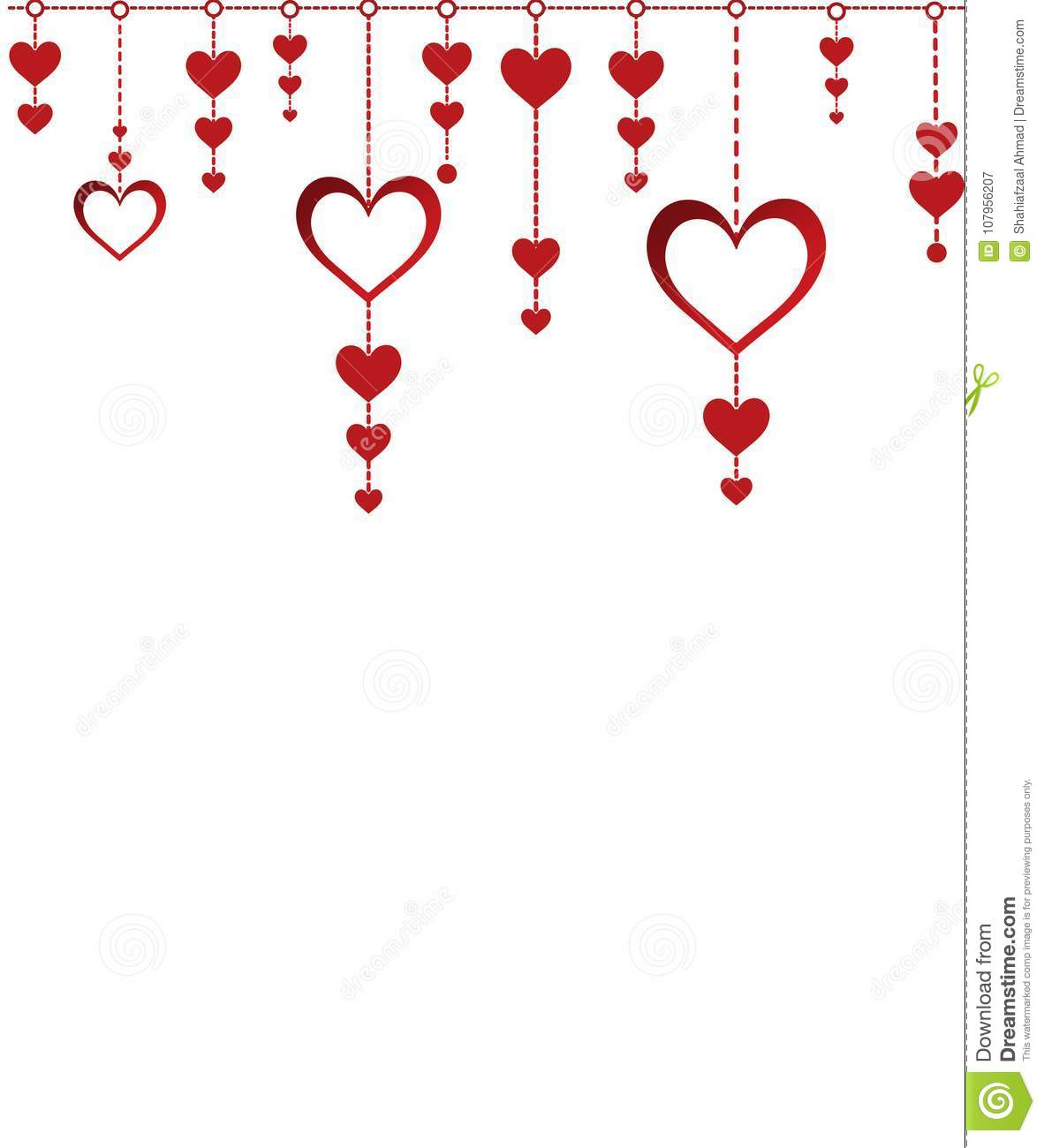 Happy Valentine Day Illustration Design Windcharm Stock Vector