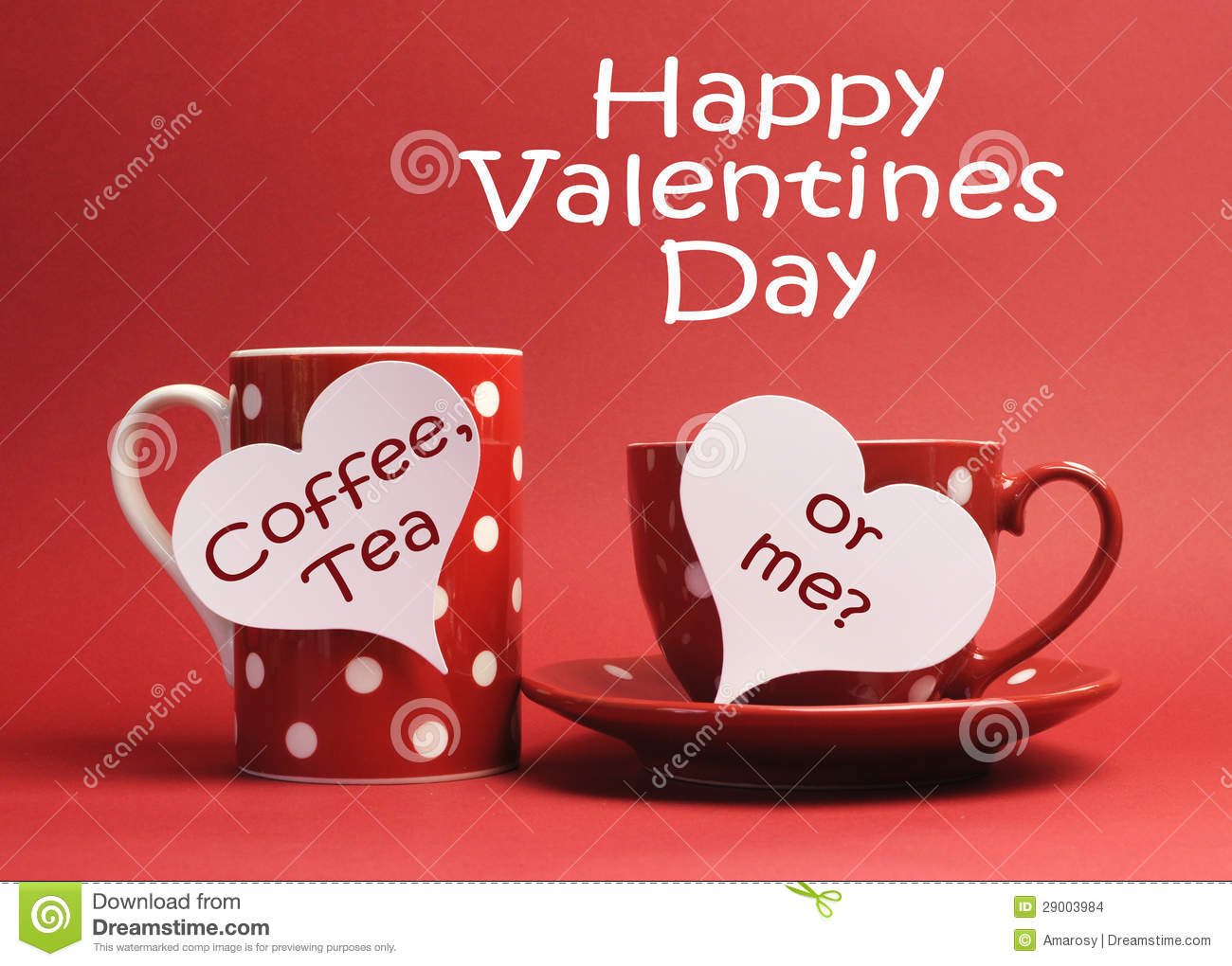 Happy valentine day message with coffee tea or me - Message original saint valentin ...