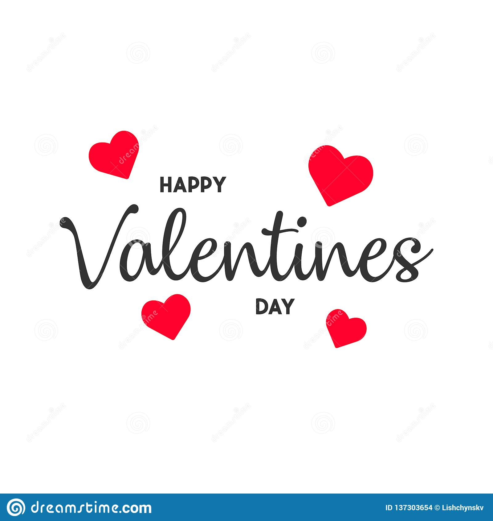 Happy Valentine s day card. modern background vector illustration EPS10
