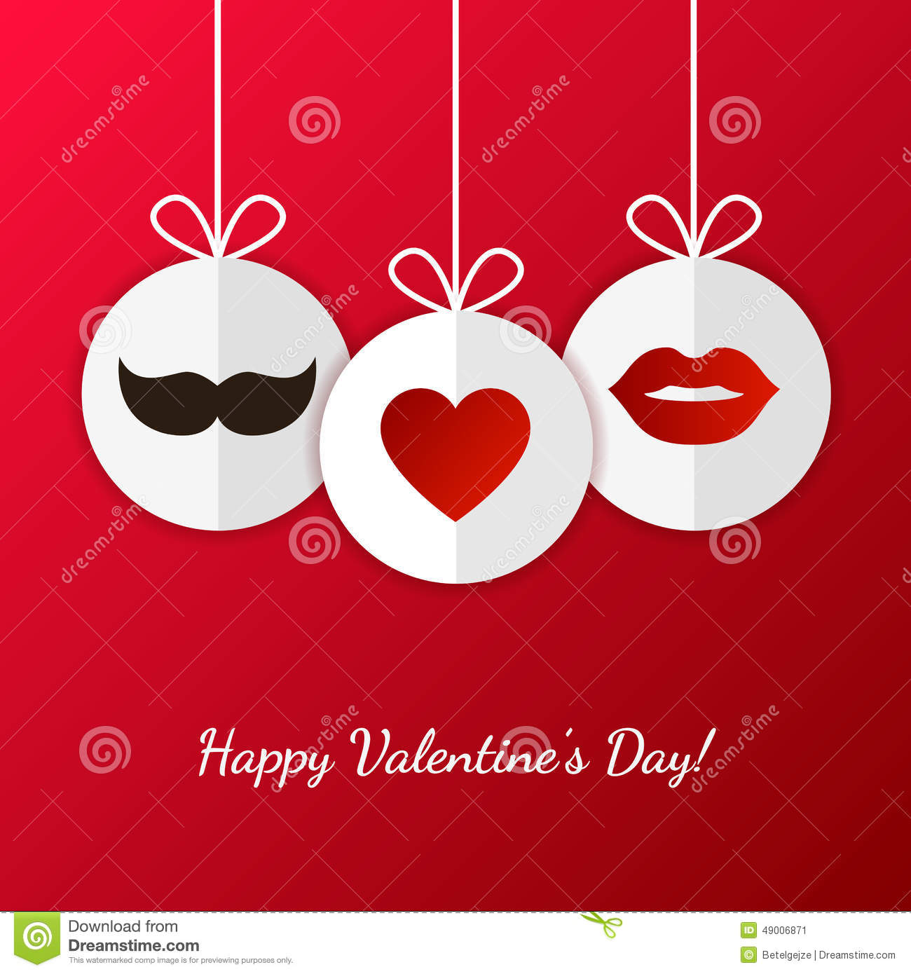 Valentine Card With Mustache And Lips Photo Image 35720850 – Mustache Valentine Cards