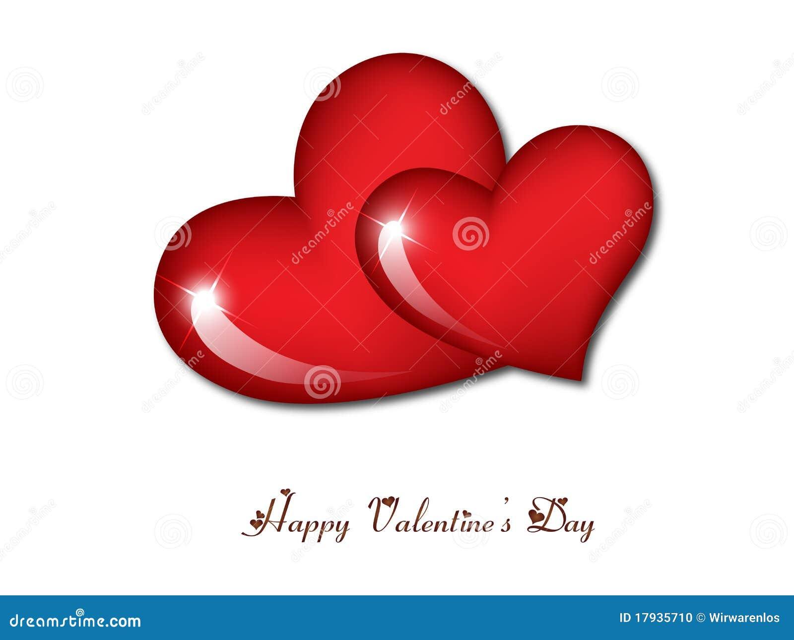 happy valentine u0027s day hearts stock photo image 17935710