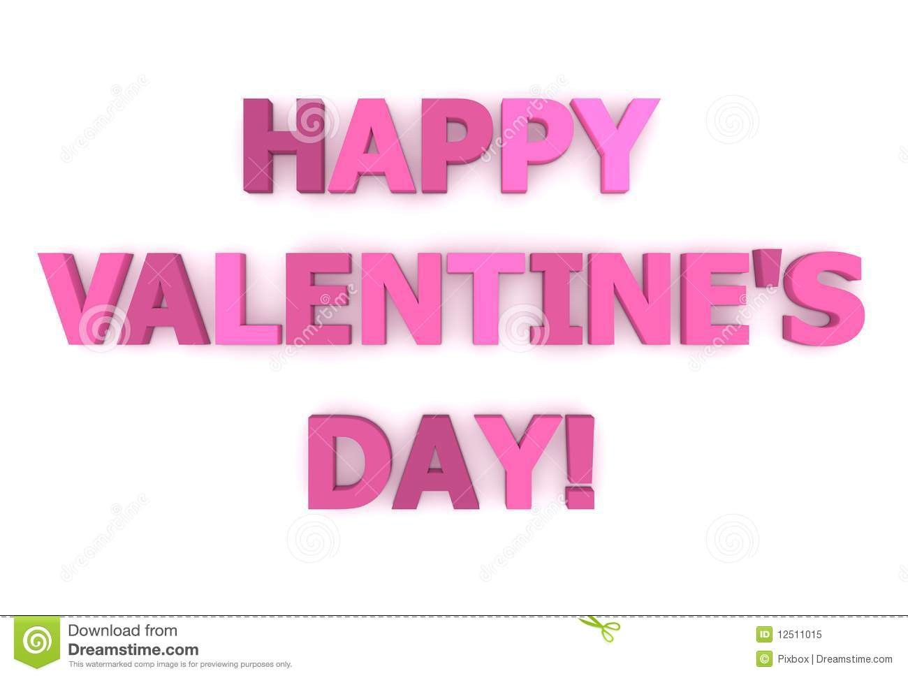 happy valentine u0026 39 s day  in pink and purple royalty free