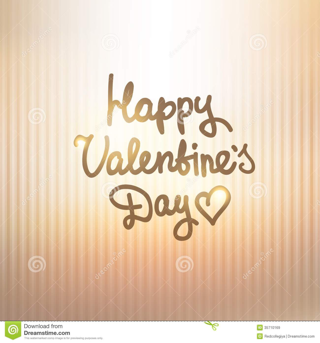 Happy Valentines Day Stock Vector Illustration Of Backdrop 35710169