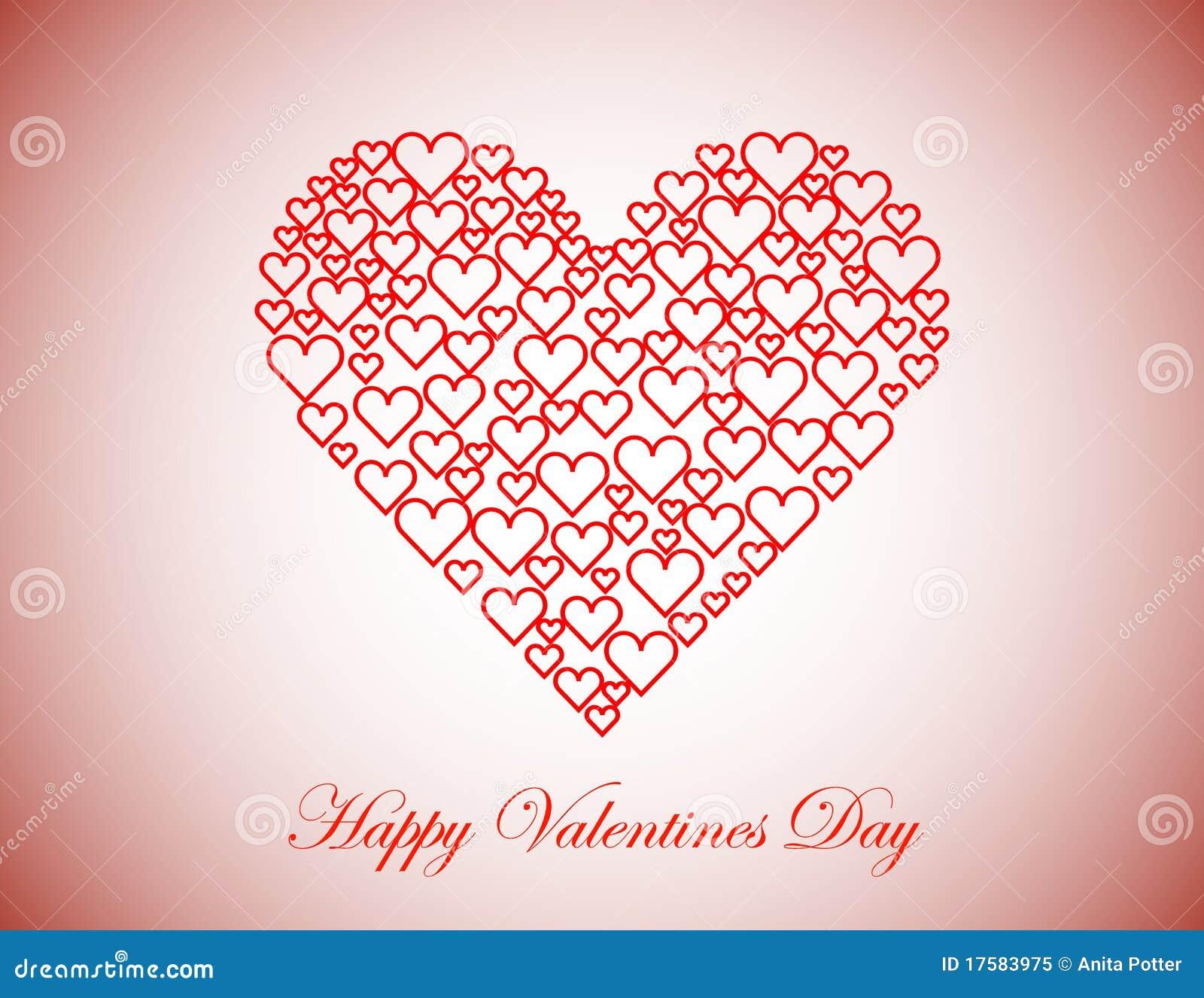 happy valentines day background stock vector image 17583975. Black Bedroom Furniture Sets. Home Design Ideas