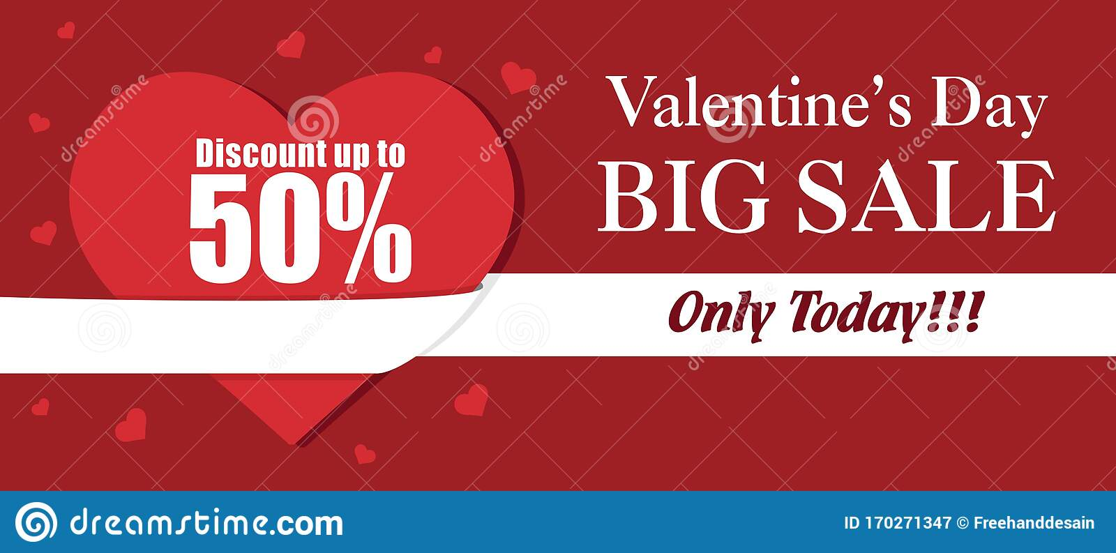 Happy Valentines Day Banner Background Template Vector Illustration Stock Vector Illustration Of Holiday Celebration 170271347