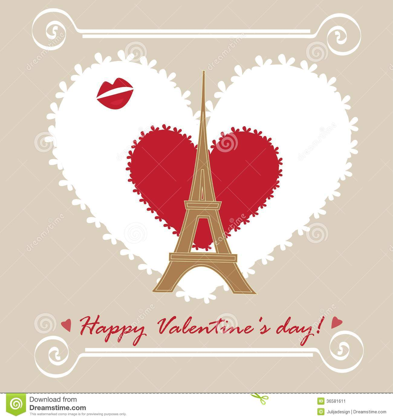 Happy Valentines Day Card Image Image 36581611 – Happy Valentines Day Cards