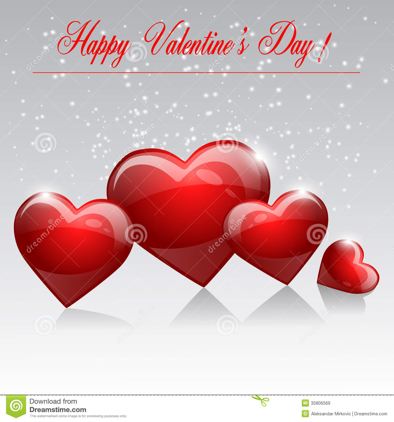 Happy valentines day stock vector image of elegance for Valentines day card design