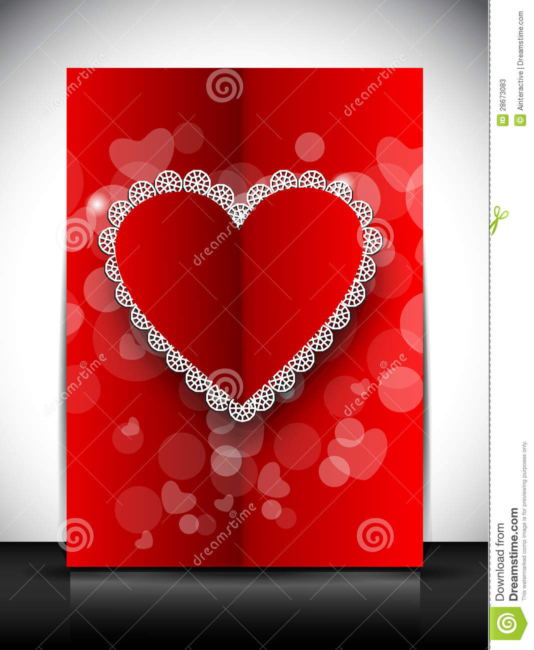 Happy Valentines Day Greeting Card Gift Card Or Background EPS – Images of Valentine Day Greeting Cards