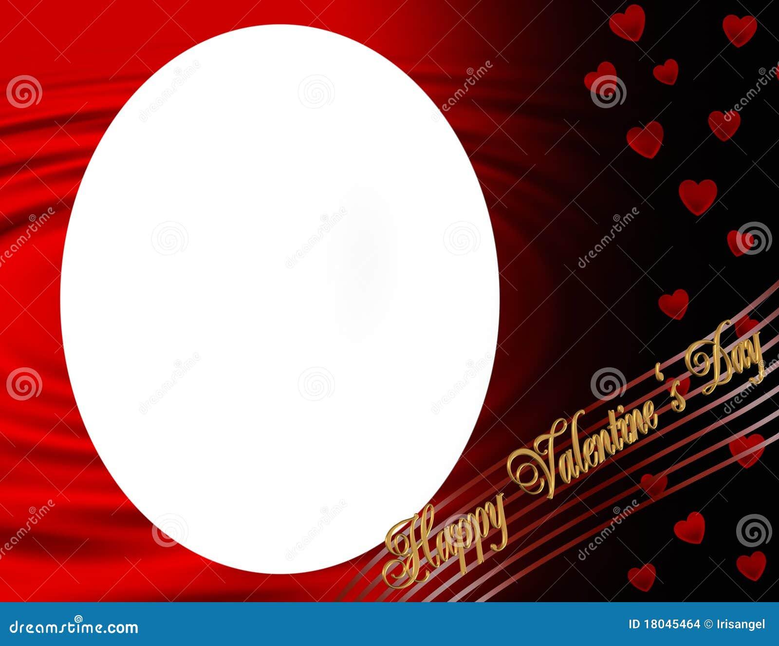Valentine frame stock illustration. Illustration of holiday - 18045464