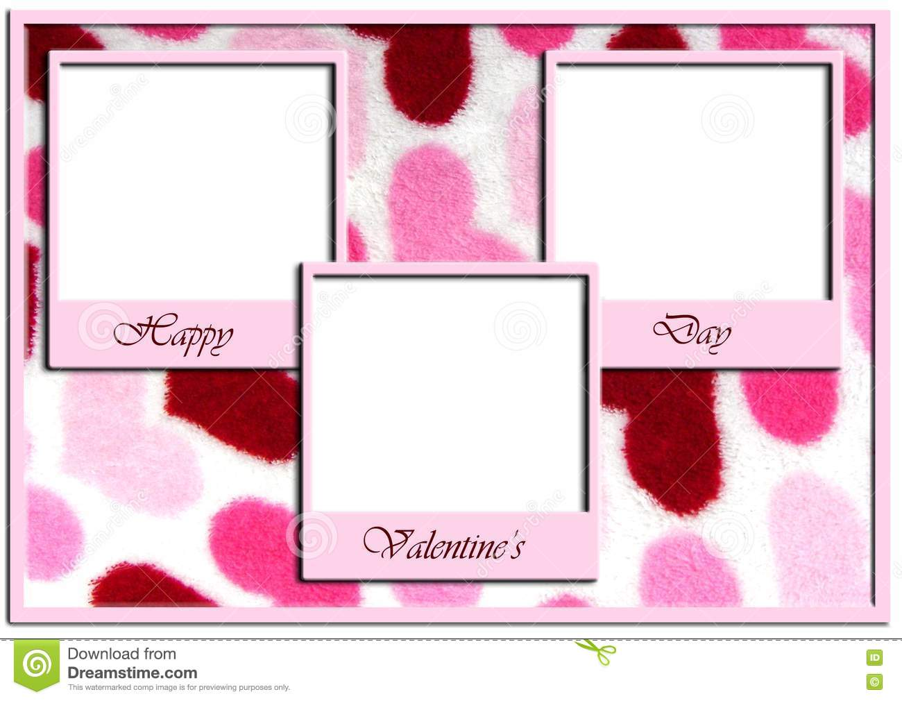 Happy Vanlentines Day frame