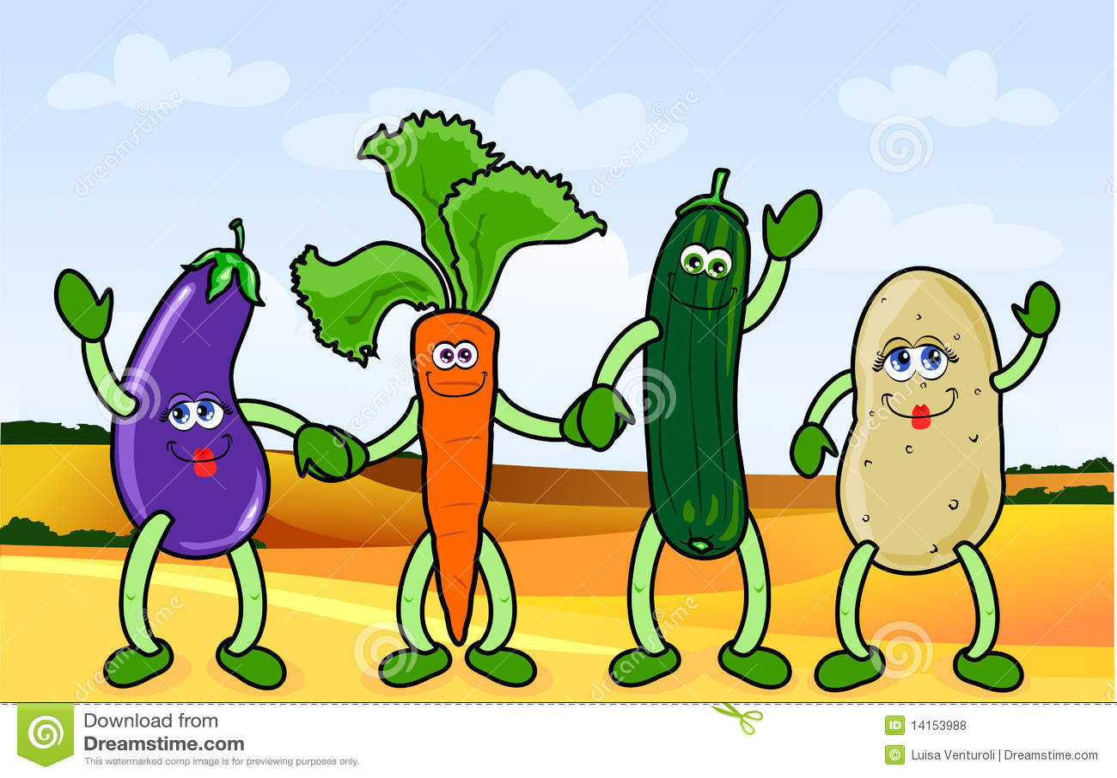 Happy vegetables stock vector. Illustration of nutrition ... Happy Vegetables