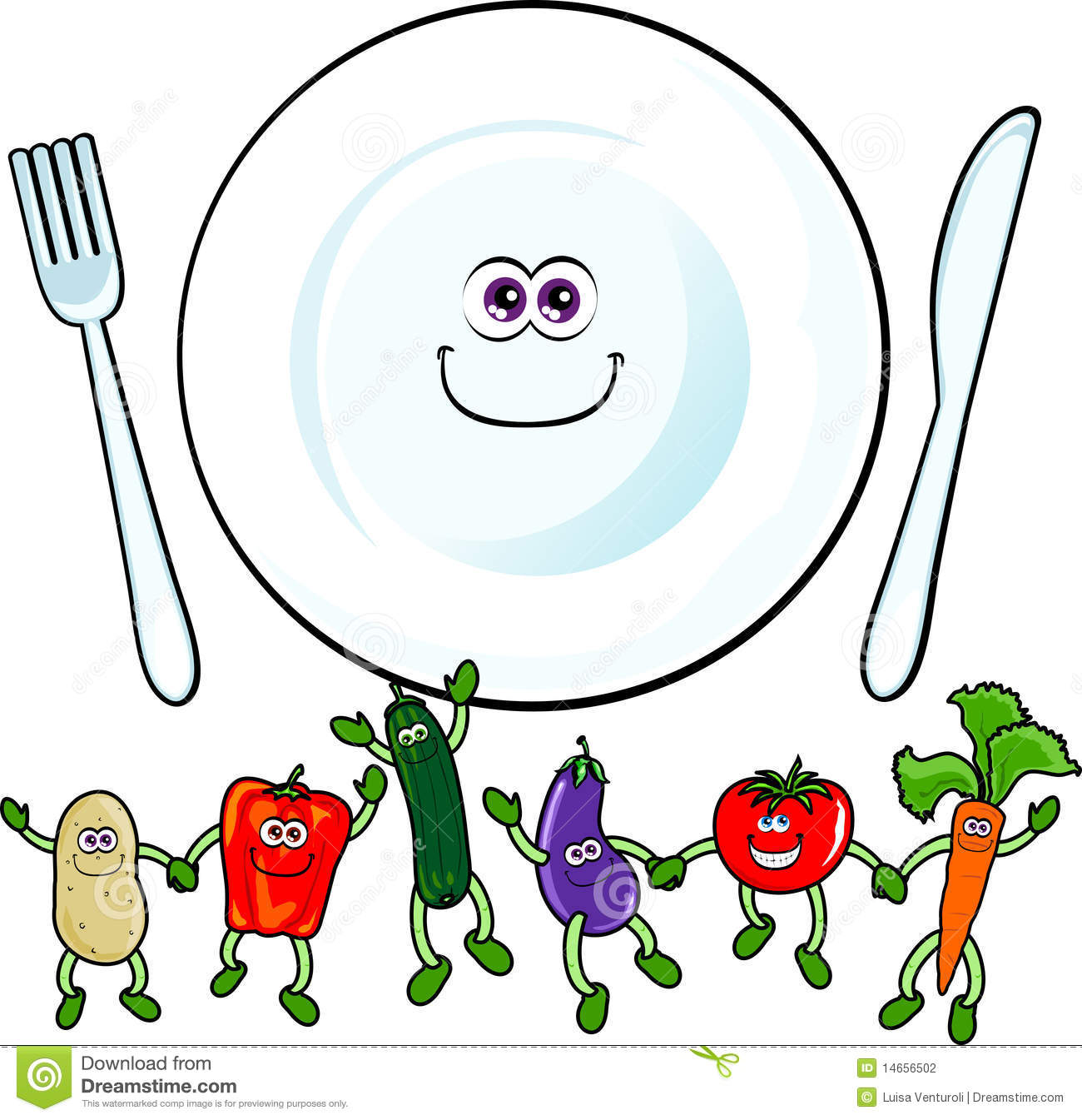 Happy Vegetables Stock Photography - Image: 14656502 Happy Vegetables