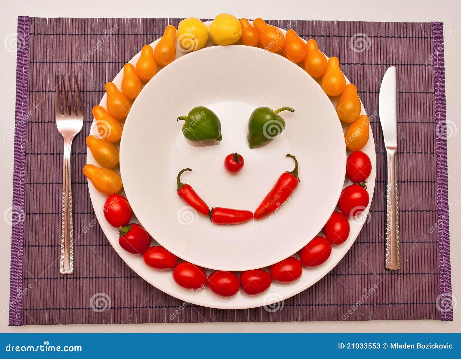Happy Vegetables Stock Photos - Image: 21033553 Happy Vegetables