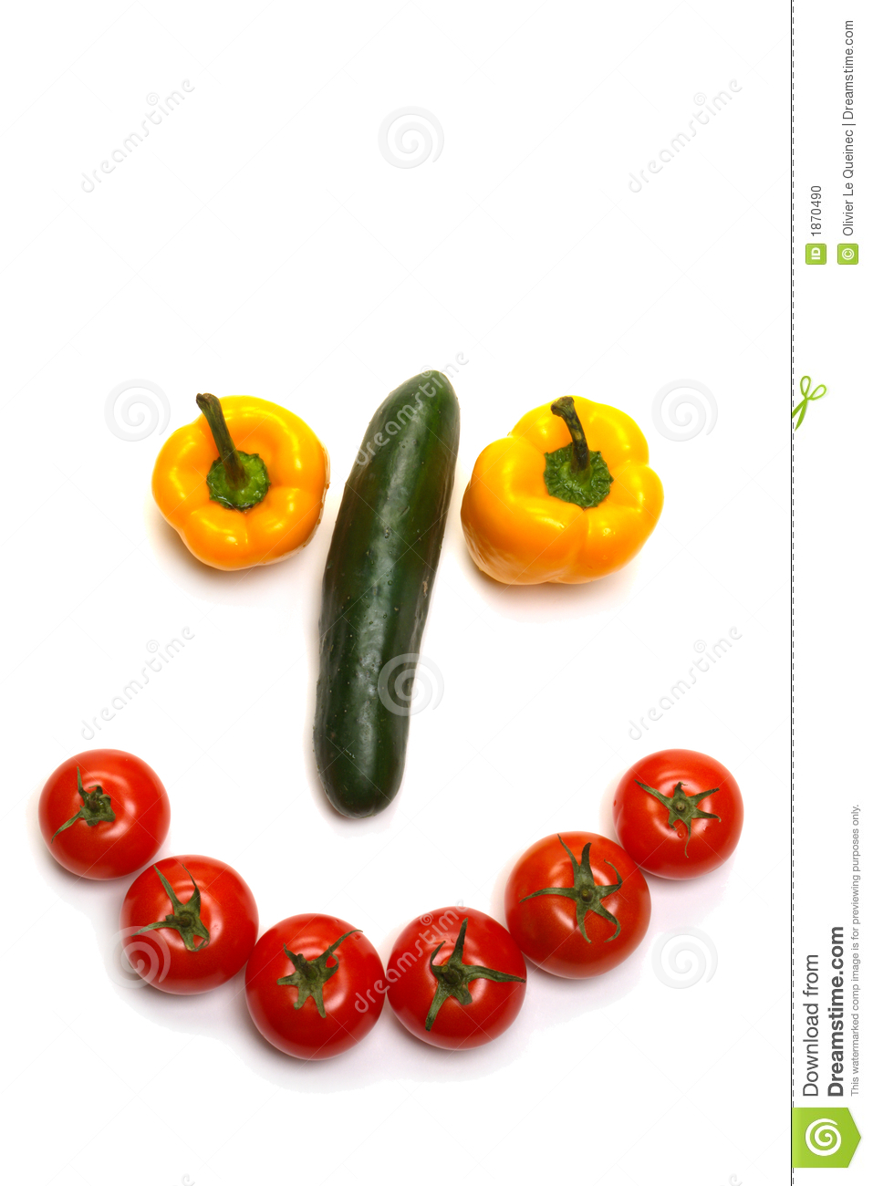 Happy veggie smiling face made of vegetables with tomatoes lips and ...