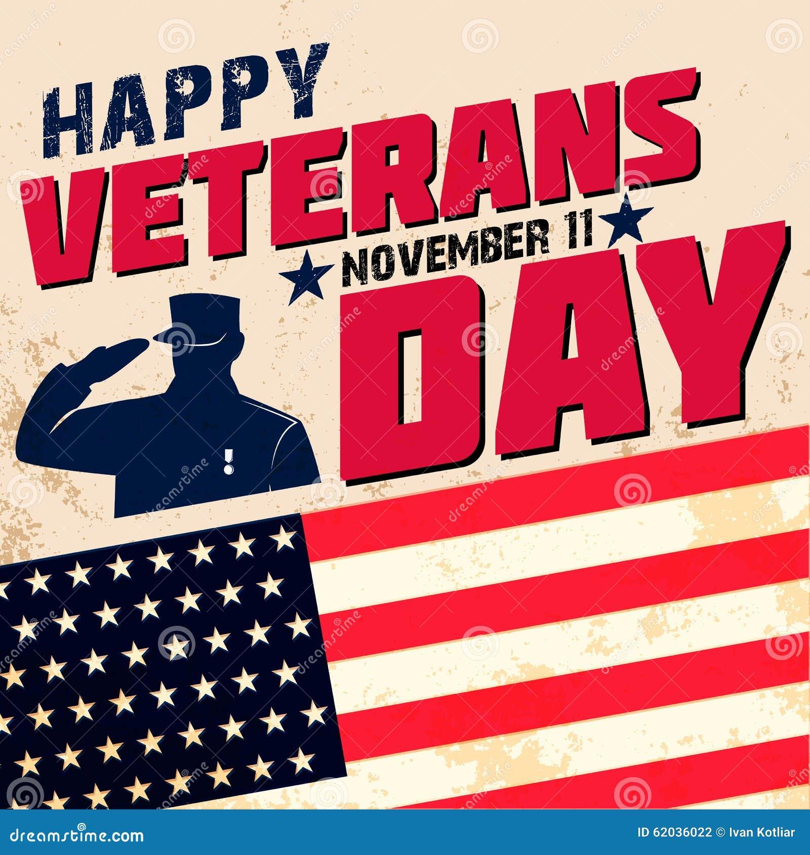 Happy veterans day stock vector illustration of patriotism 62036022 happy veterans day m4hsunfo