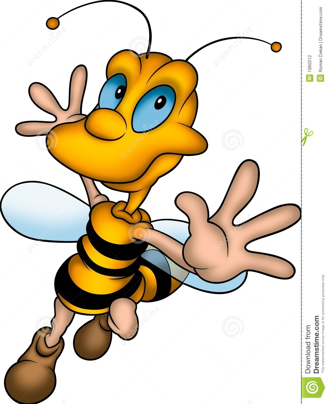 Happy wasp