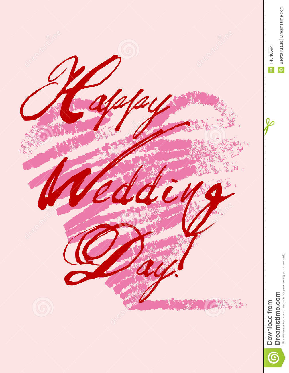 Happy weddings day stock vector illustration of marriage 14040694 happy wedding s day m4hsunfo