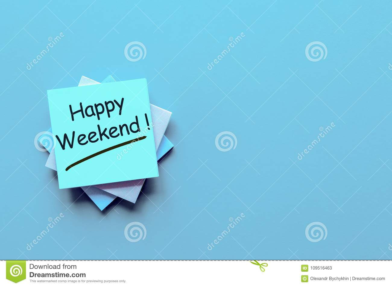 Happy Weekend Note With A Wish To Have A Good Rest And Have Fun On