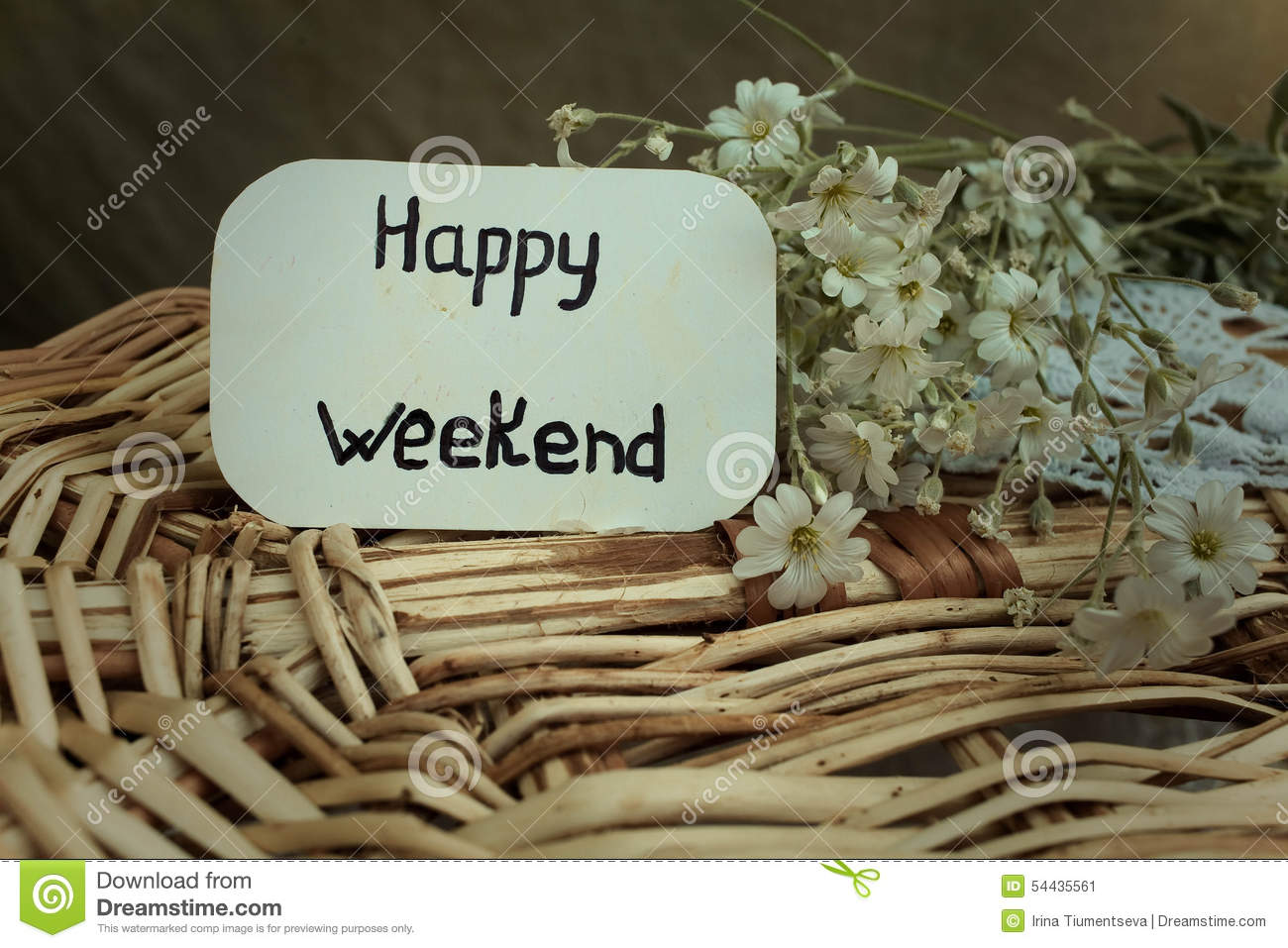 Happy weekend stock image image of straw vacation season 54435561 happy weekend m4hsunfo
