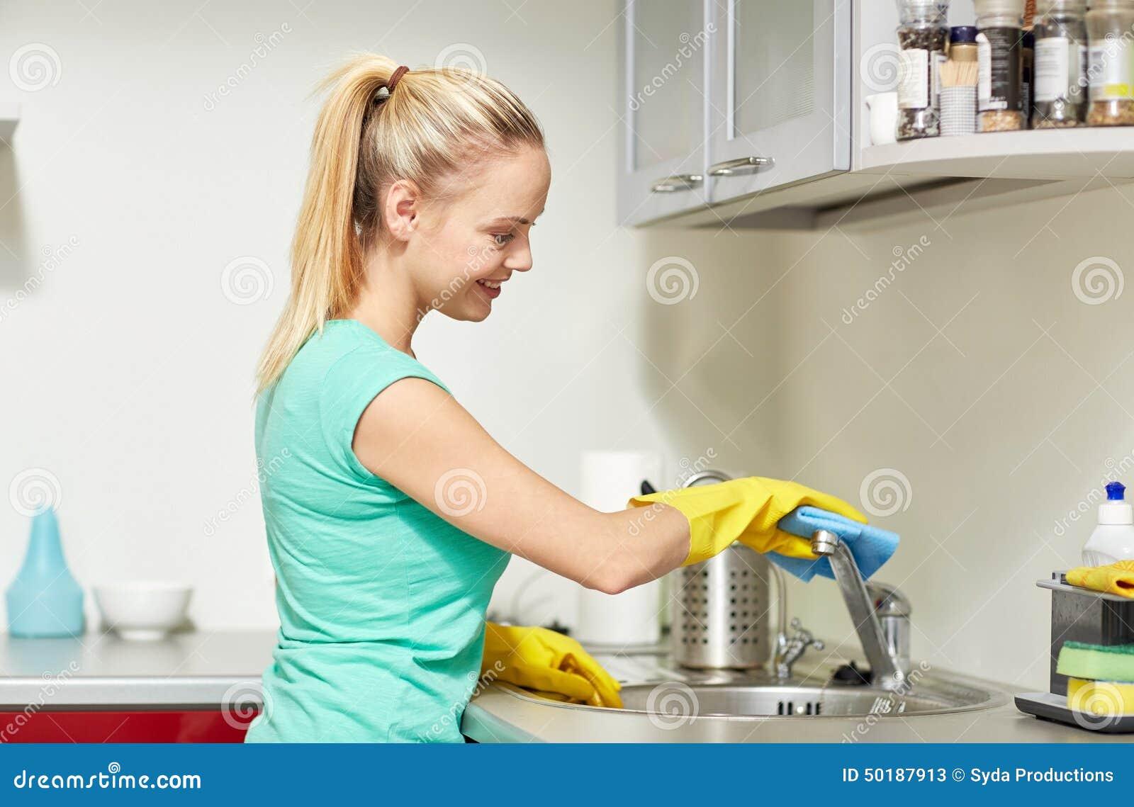 Home Cleaning Cartoon Vector Cartoondealer Com 39161467
