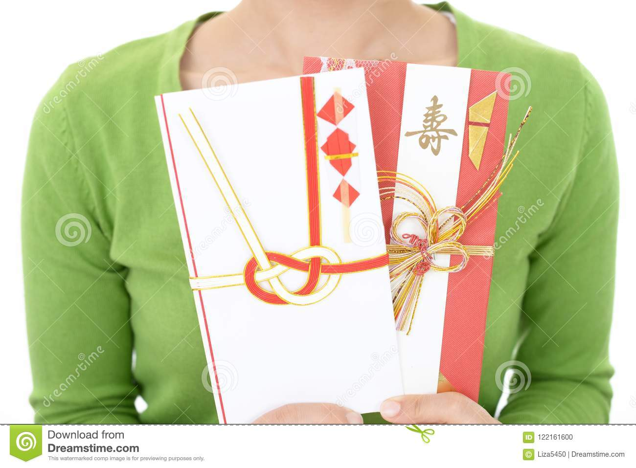 special envelope for monetary gifts stock photo image of