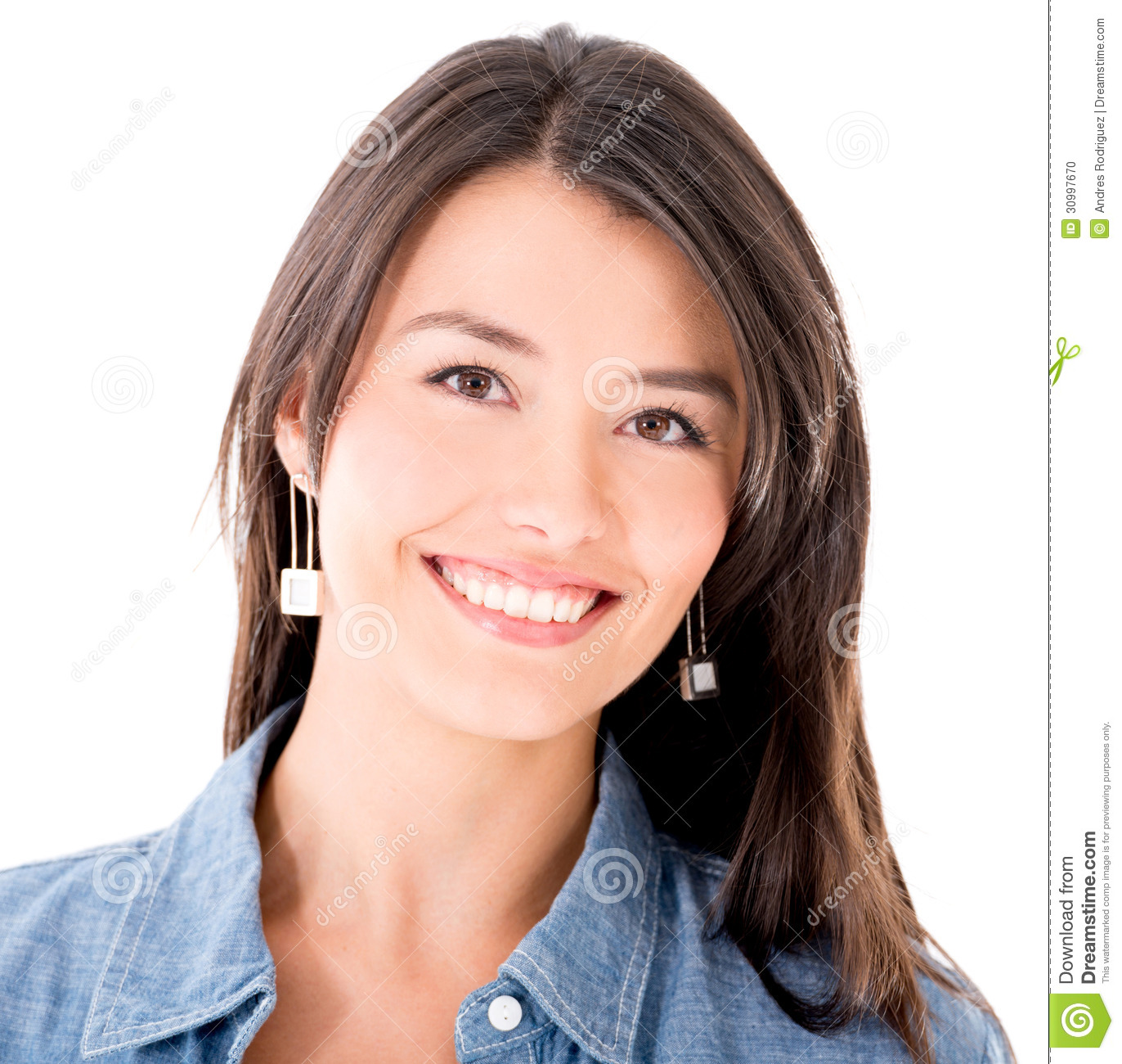 happy-woman-smiling-isolated-over-white-
