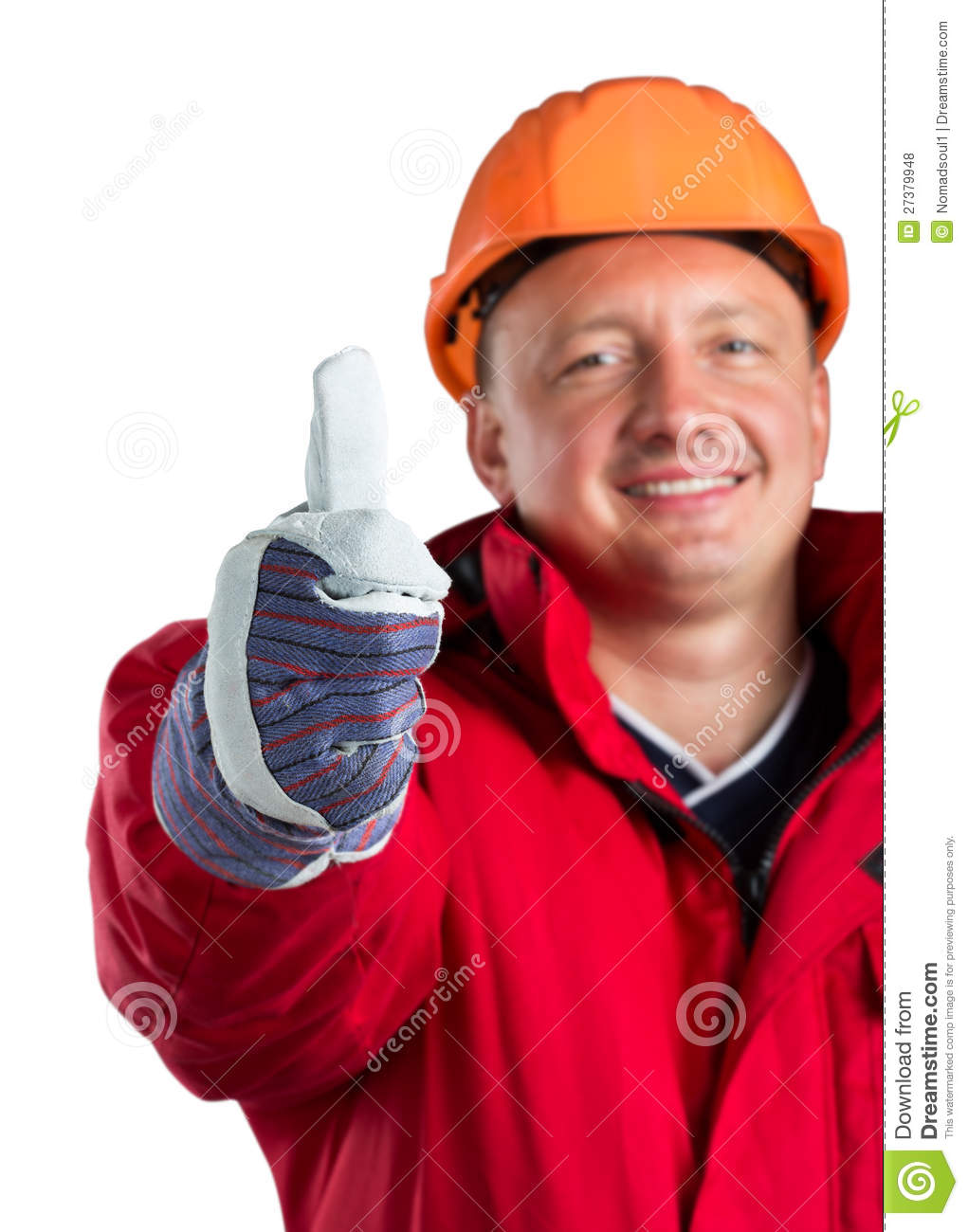 Happy Worker Royalty Free Stock Photos Image 27379948