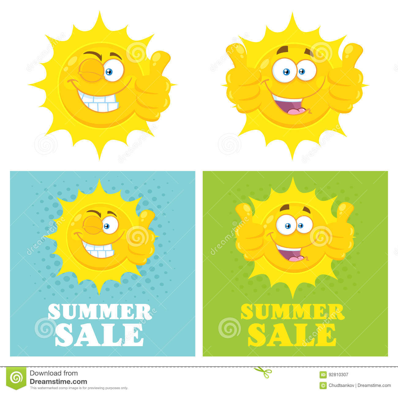 9c63e71ecb20 Happy Yellow Sun Cartoon Emoji Face Character Giving Thumbs Up. Flat Design